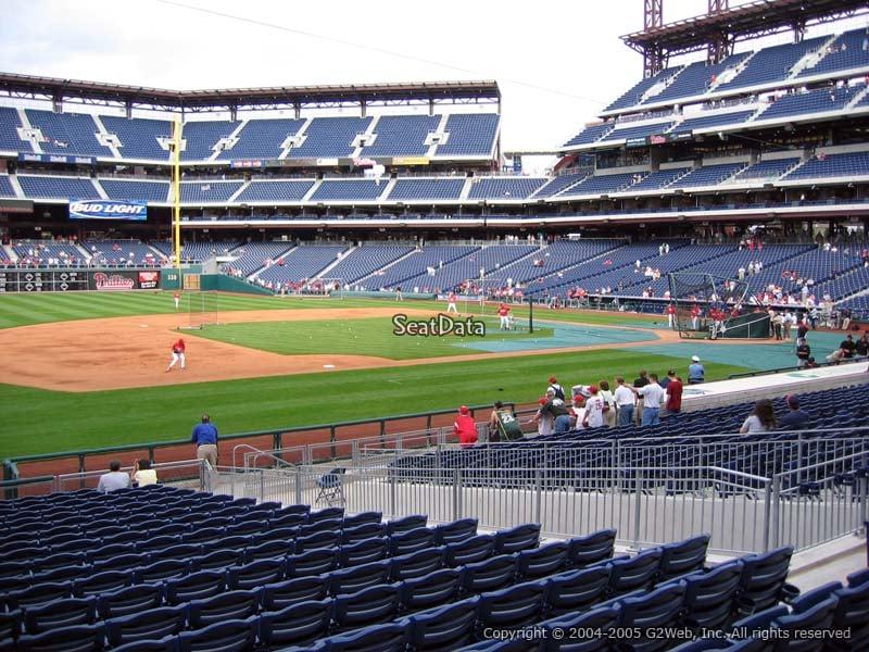 Citizens Bank Park Section 133 Philadelphia Phillies