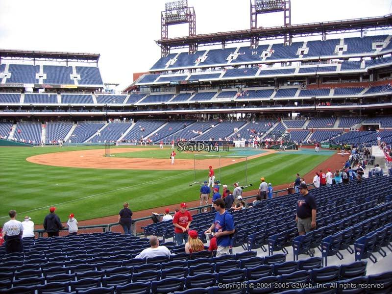 Citizens Bank Park Section 137 Philadelphia Phillies