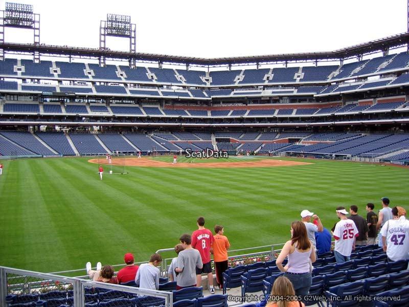 Citizens Bank Park Section 146 Philadelphia Phillies