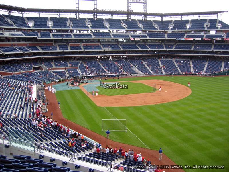 Citizens Bank Park Section 207 Philadelphia Phillies
