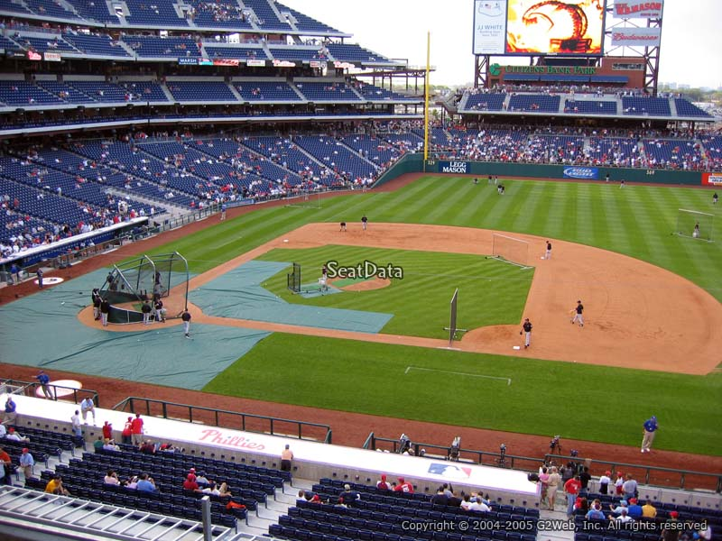 Hall Of Fame Club Citizens Bank Park Baseball Seating