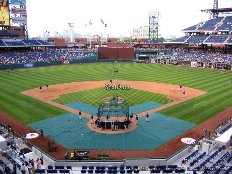 Citizens Bank Park Section 222 Philadelphia Phillies