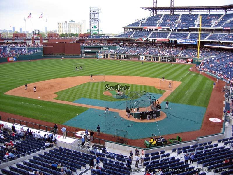 Citizens Bank Park Section 225 Philadelphia Phillies