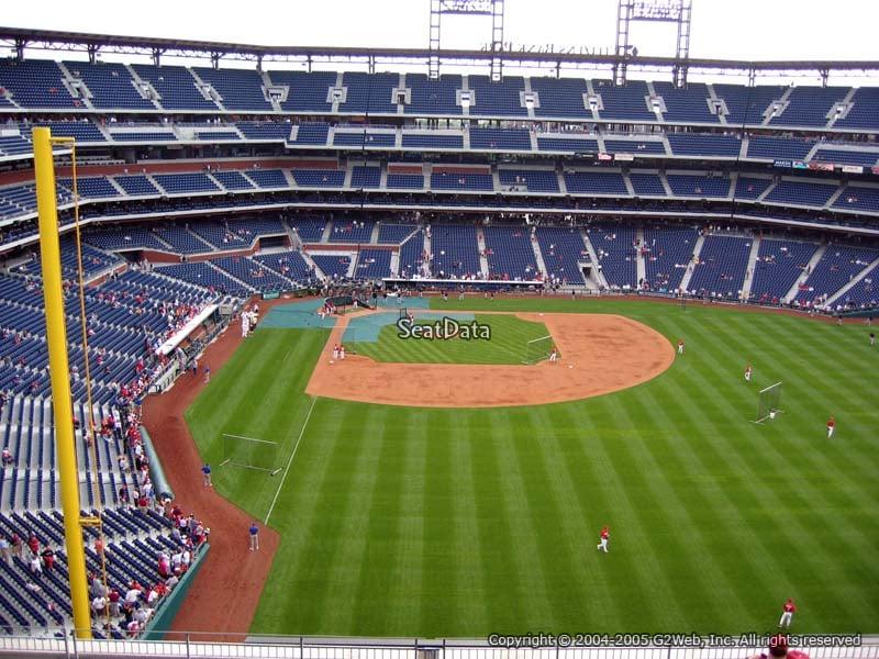 Citizens Bank Park Section 304 Philadelphia Phillies