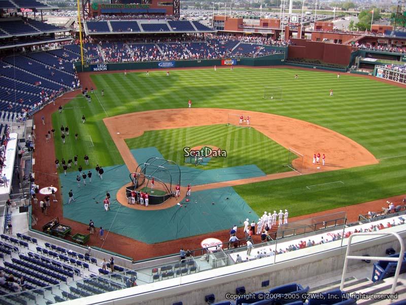 Citizens Bank Park Section 318 - Philadelphia Phillies ...