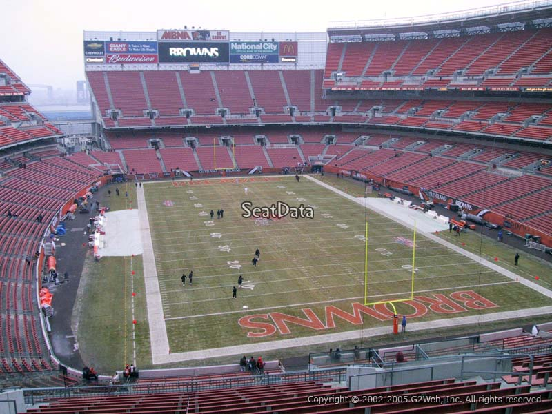Seat View for First Energy Stadium Section 318