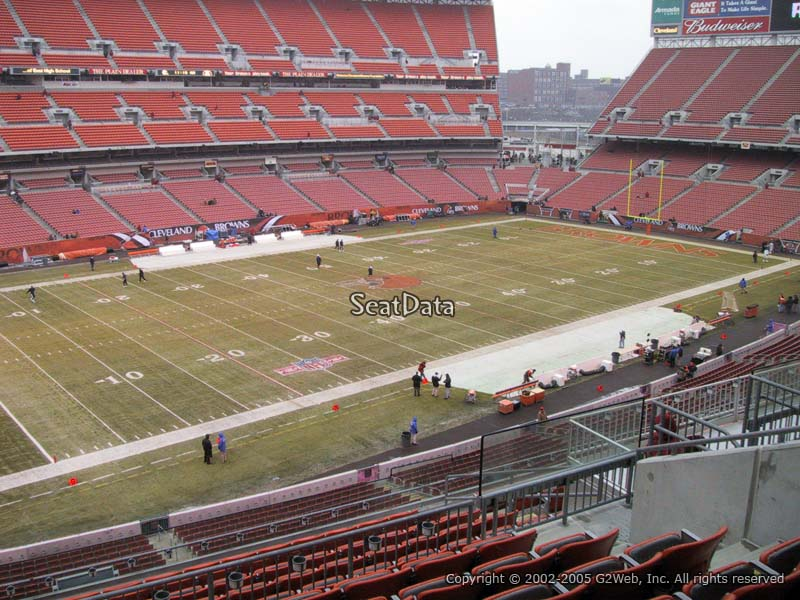 Seat View for First Energy Stadium Section 329
