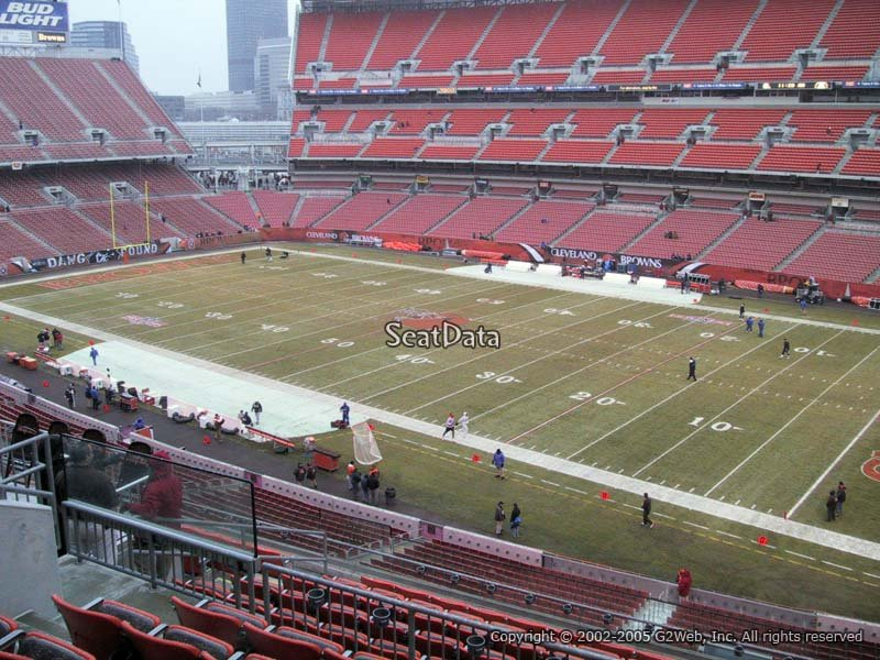 Cleveland Browns Stadium Seating Chart Club Level