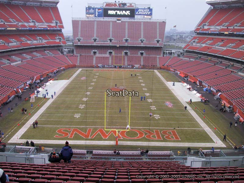 First Energy Stadium (Cleveland Browns Stadium) Section 347 ...