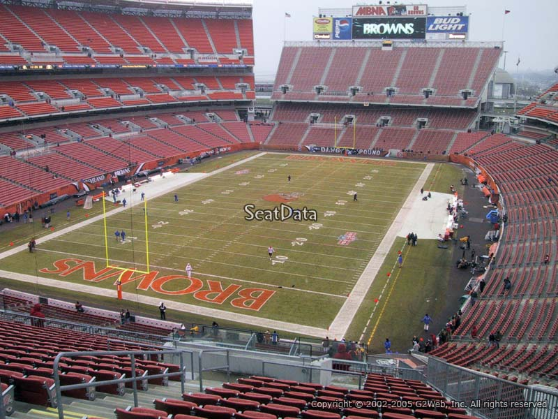 Seat View for First Energy Stadium Section 350
