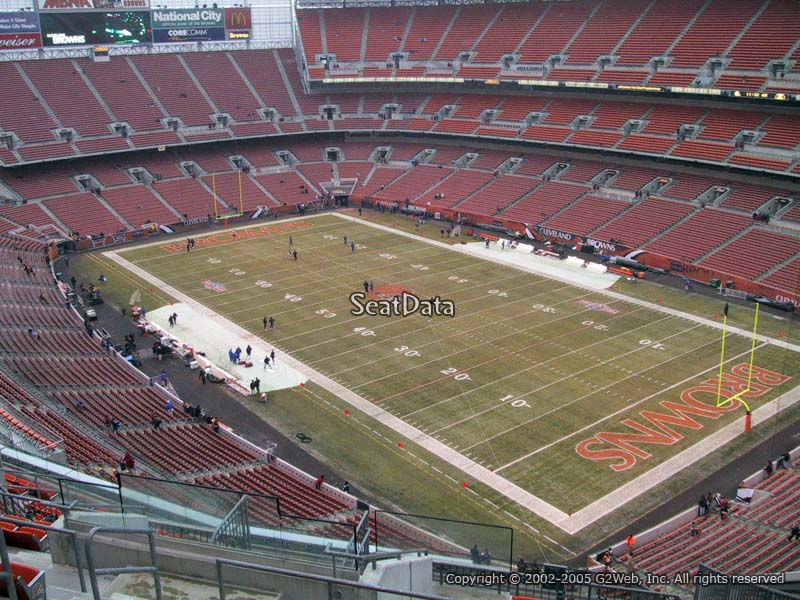 Seat View for First Energy Stadium Section 516