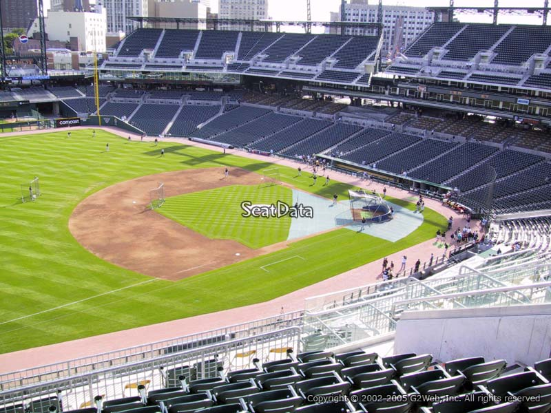 Detroit Tigers Comerica Park Seating Chart & Interactive Map ...