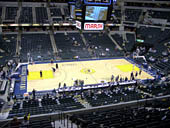 Seat View for Bankers Life Fieldhouse Section 105