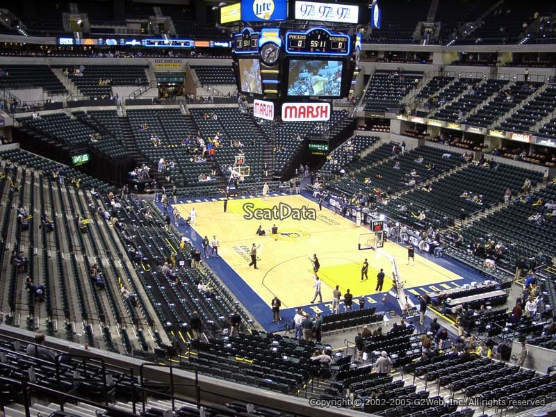 Indiana Pacers Bankers Life Fieldhouse Section 112