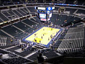 Seat View for Bankers Life Fieldhouse Section 214