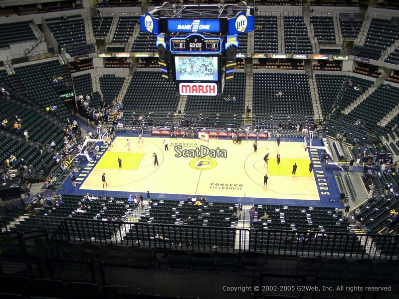 Indiana Pacers Bankers Life Fieldhouse Section 224