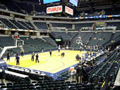 Seat View for Bankers Life Fieldhouse Section 8