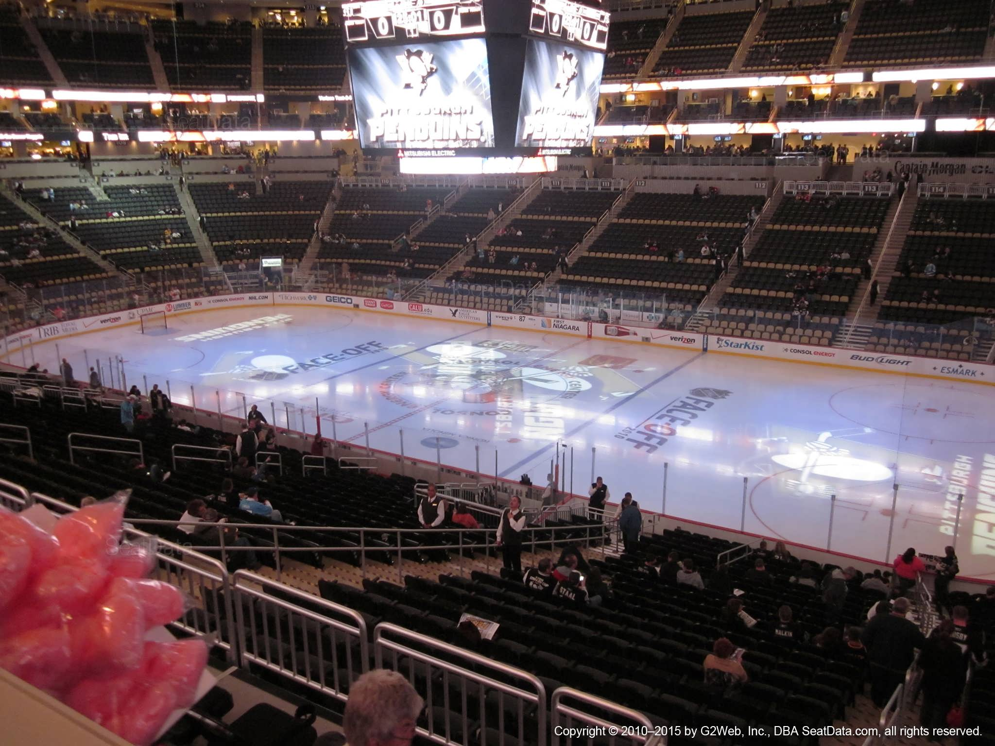 Ppg Paints Arena Club Loge 2 Pittsburgh Penguins