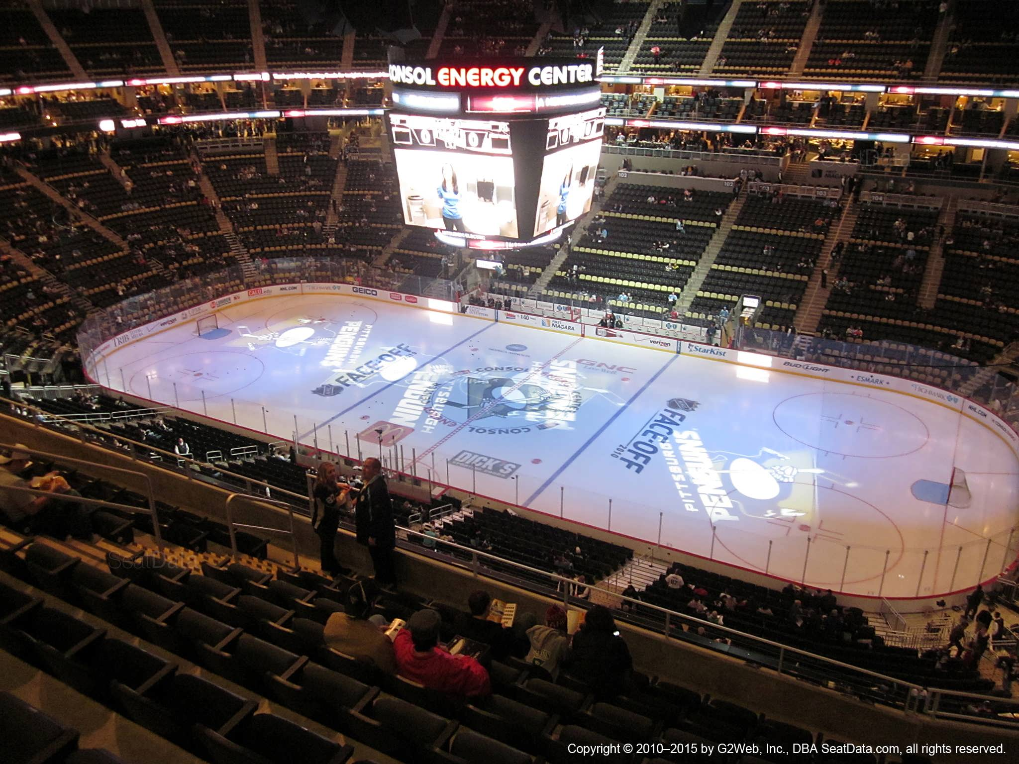 Ppg Paints Arena Section 217 Pittsburgh Penguins