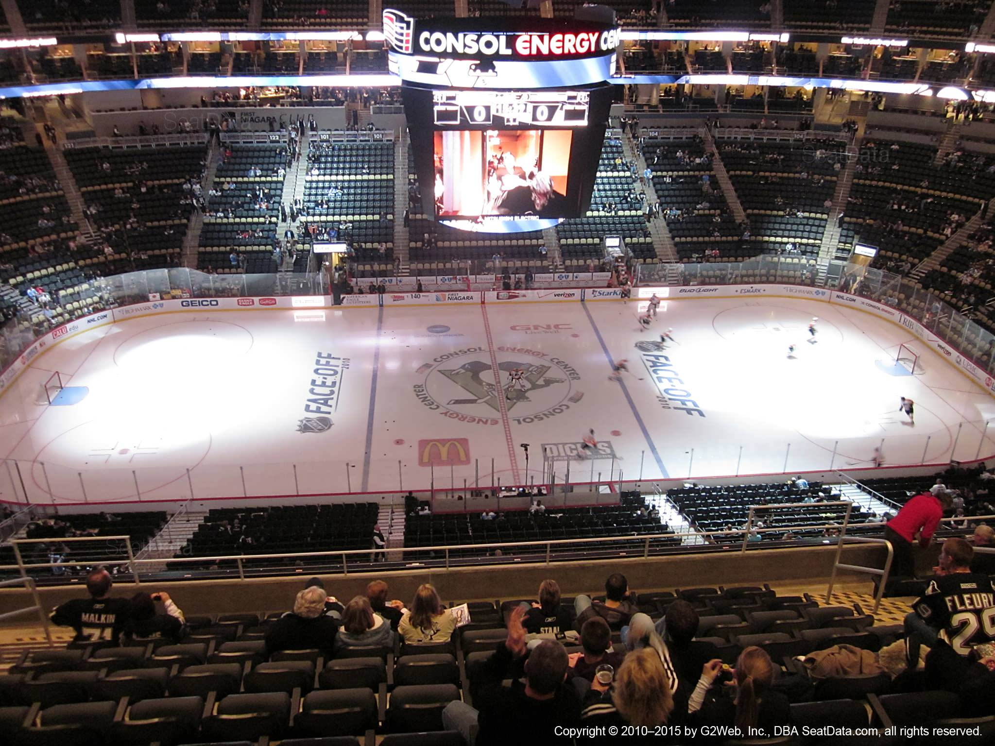 Best Seats In Ppg Paint Arena