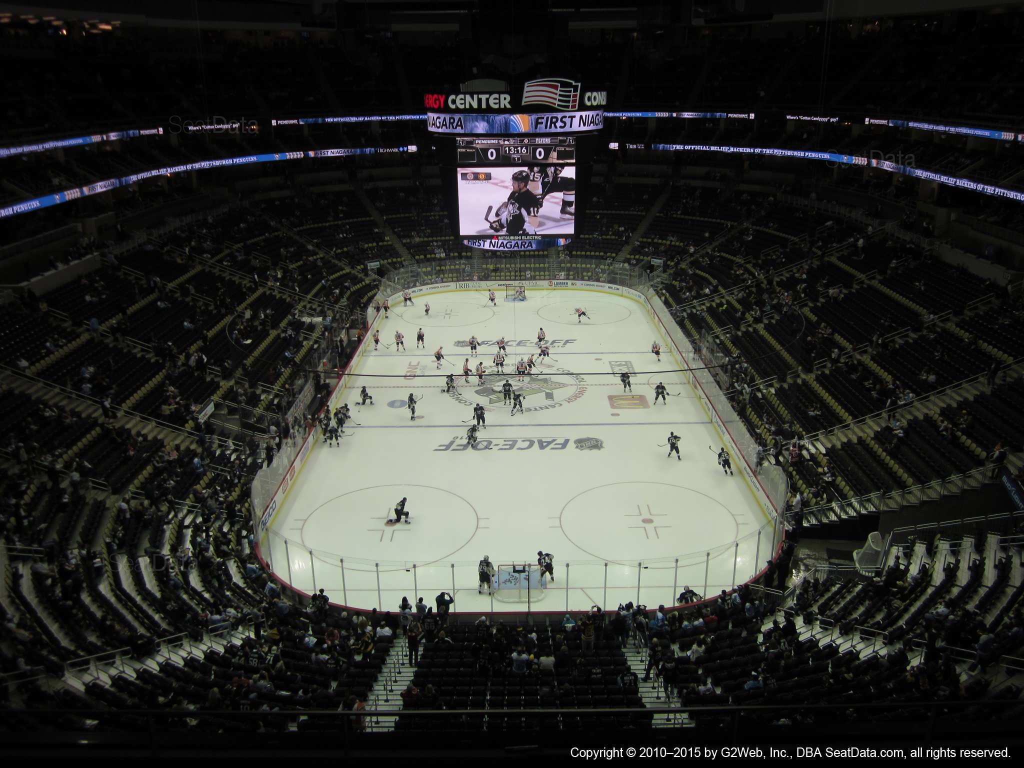 Ppg Paints Arena Section 228 Pittsburgh Penguins