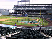 Seat View for Coors Field Section 134