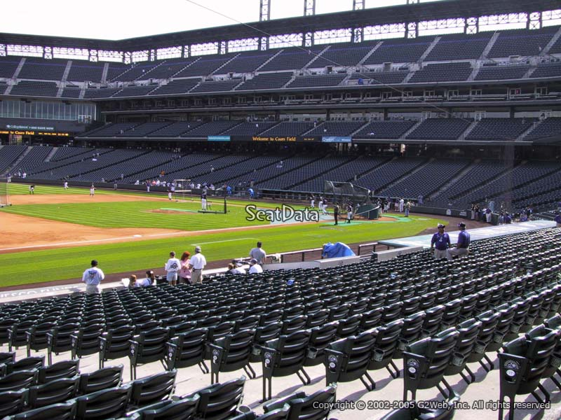 Coors Field Section 142 - RateYourSeats.com