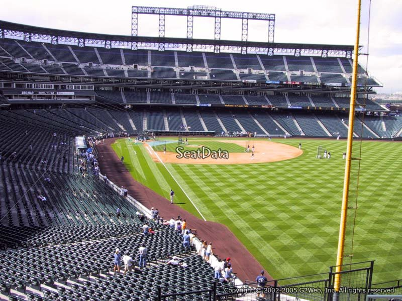 Coors Field Section 209 Rateyourseats Com