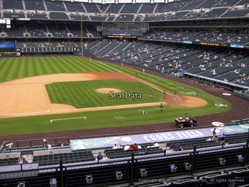 Coors Field Seat Numbers - Best Car News 2019-2020 by ...