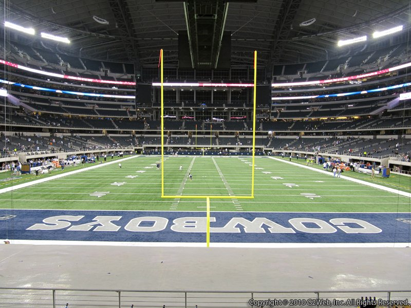 At Amp T Stadium Section 148 Dallas Cowboys Rateyourseats Com