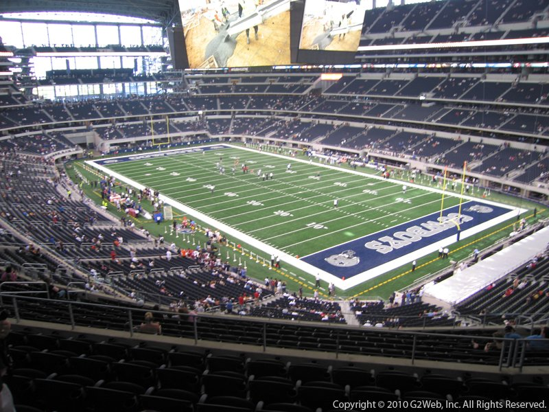 At Amp T Stadium Section 304 Dallas Cowboys Rateyourseats Com
