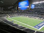 Dallas Cowboys Seat View for AT&T Stadium Section 329