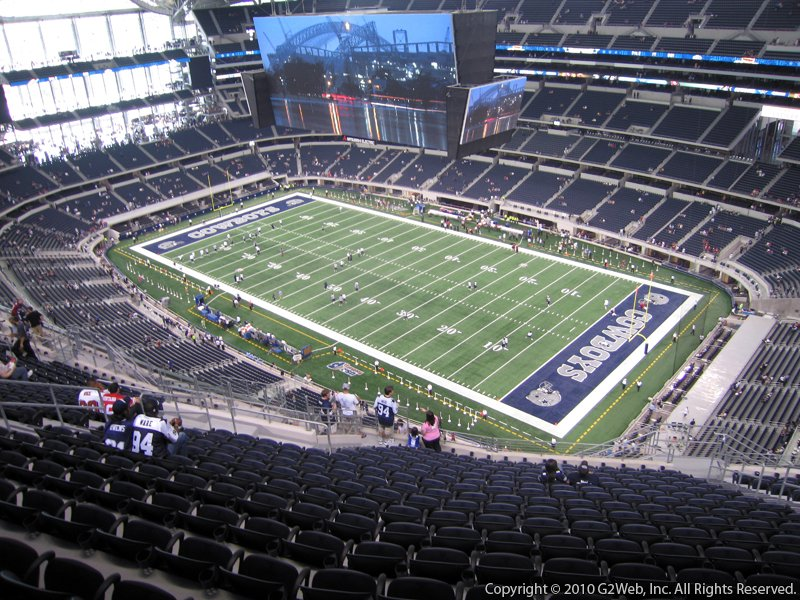 AT&T Stadium Section 406 - Dallas Cowboys - RateYourSeats.com