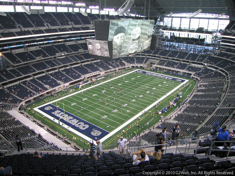 AT&T Stadium Section 421 - Dallas Cowboys - RateYourSeats.com