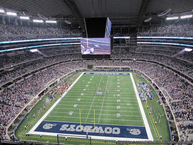 Dallas Cowboys Seat View for AT&T Stadium Section 426