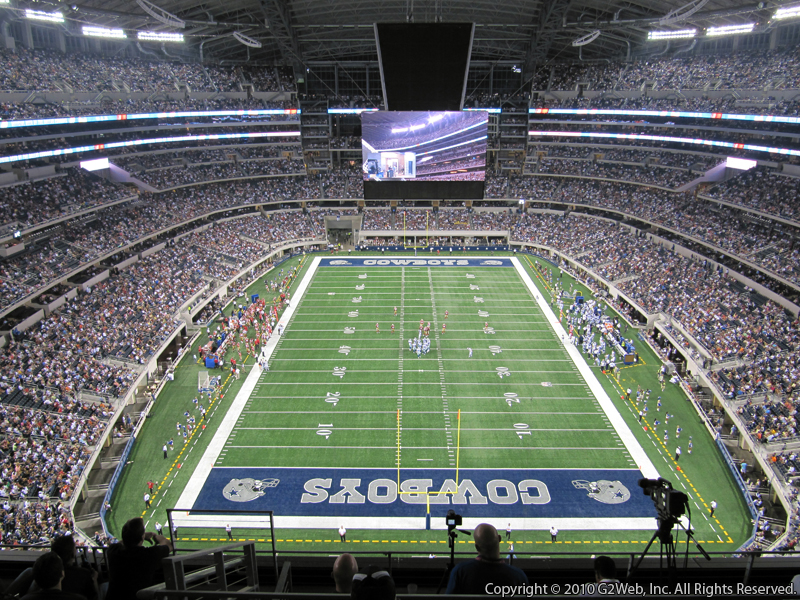 Dallas Cowboys Seat View for AT&T Stadium Section 427