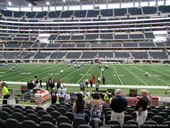 Dallas Cowboys Seat View for AT&T Stadium Section C135