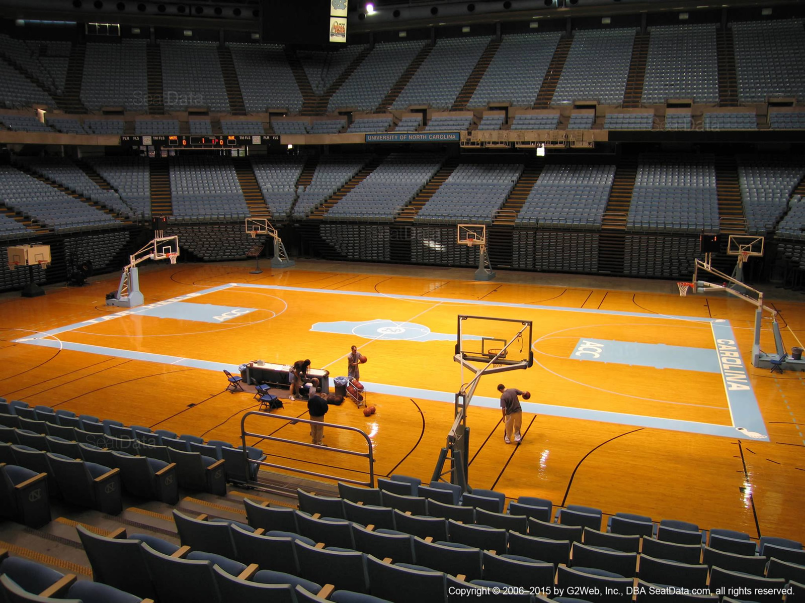Seat View for Dean Smith Center Section 110