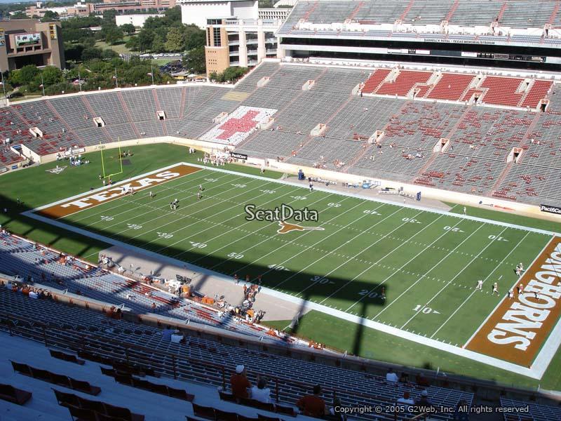 Dkr Texas Memorial Stadium Section 101 Rateyourseats Com