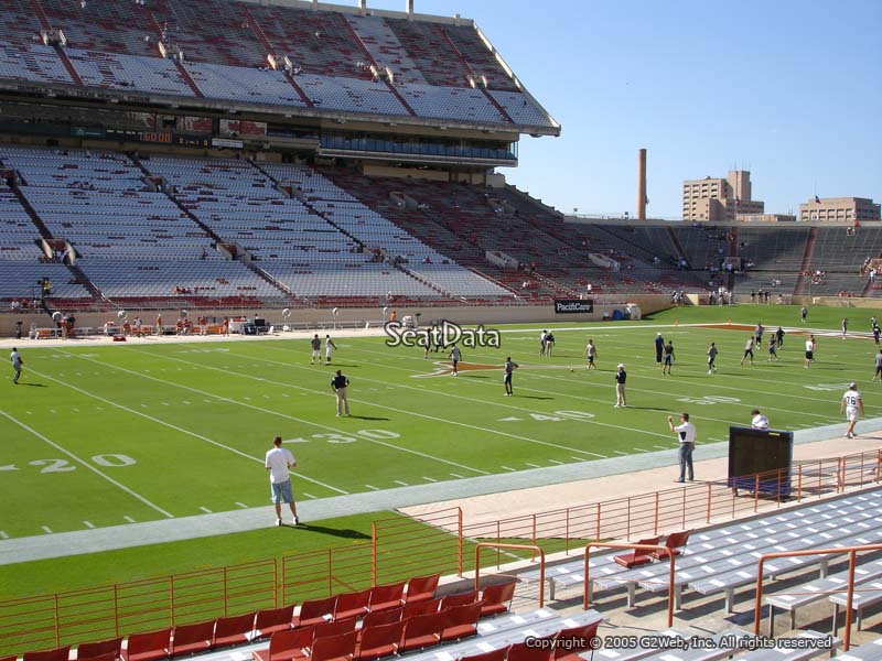Seat View For DKR Texas Memorial Stadium Section 30