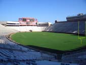 Seat View for Doak Campbell Stadium Section 123