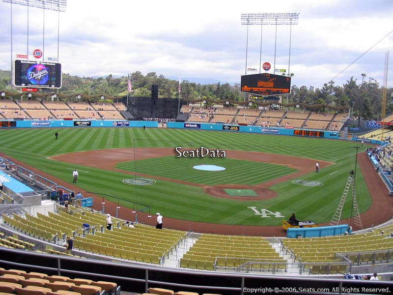 Dodger stadium los angeles tickets dodger stadium seating chart