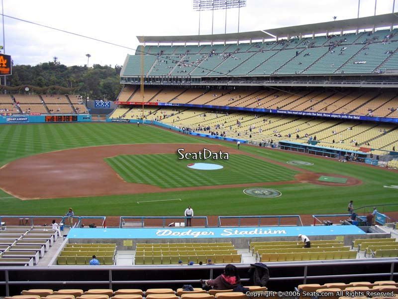 Dodger Stadium Section 135 - RateYourSeats.com