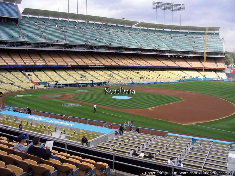 Dodger Stadium Section 144 - RateYourSeats.com