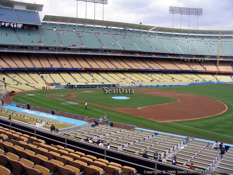 Dodger stadium seating dodger stadium seating