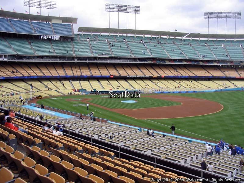 Dodger Stadium Section 156 Rateyourseats Com