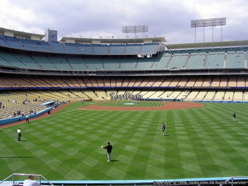 Dodger Stadium Section 304 Seat View
