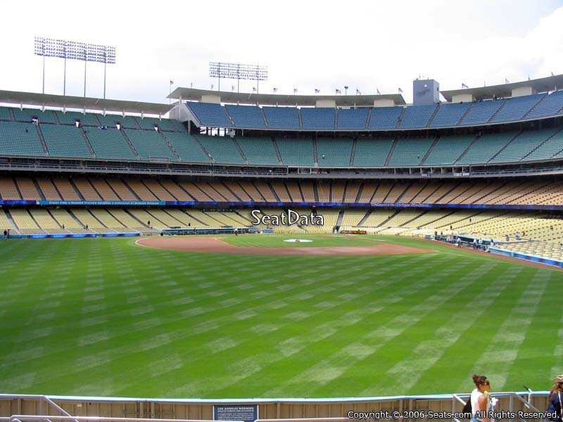 Best Seats Dodger Stadium Shaded And Covered Seating At