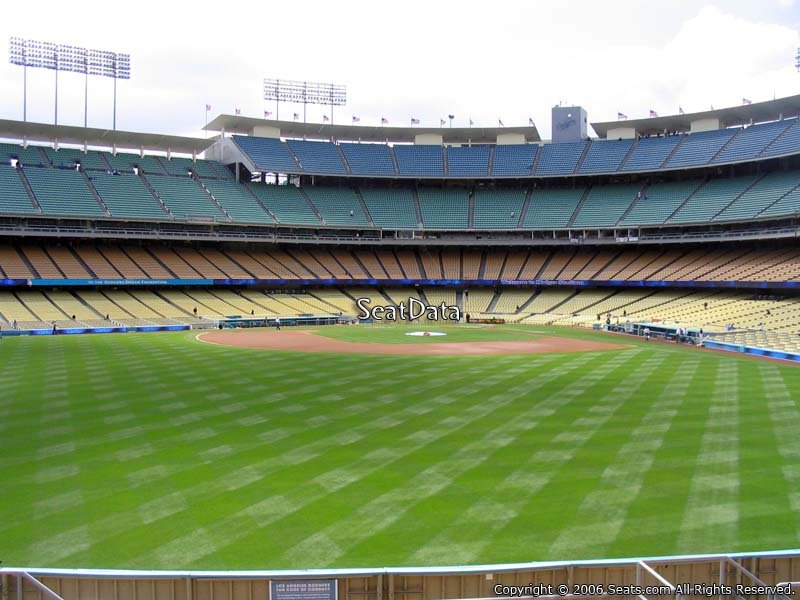 Dodger Stadium Section 309 Seat View