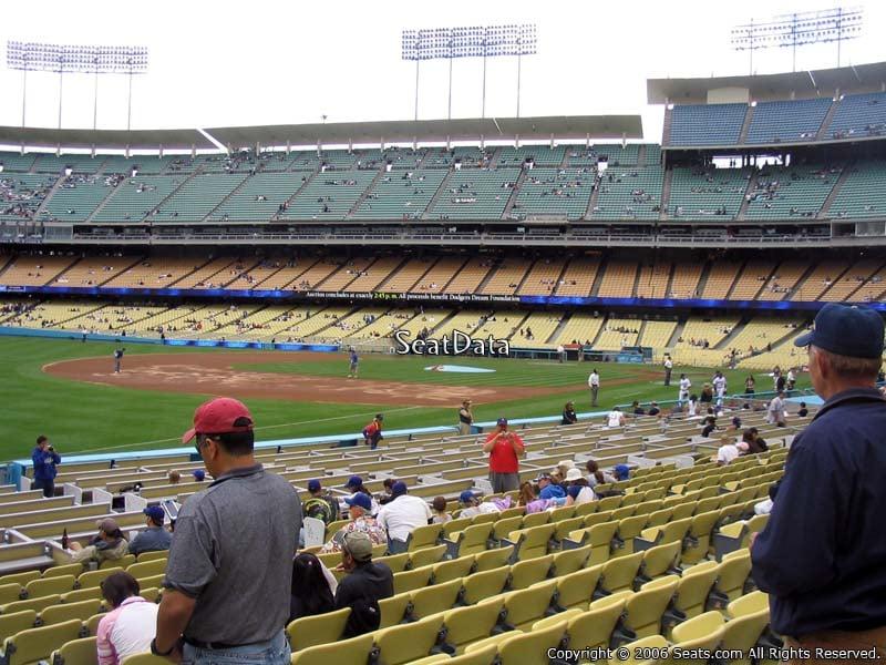 Dodger Stadium Section 41 Seat Views Seatscore Rateyourseats